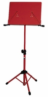 Audio 2000 (AST4384RD) Premium Heavy-Duty Sheet Music Stand, Red (for Orchestra)