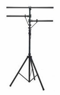 Audio 2000 (AST4421B) Professional Lighting Stand with Dual Crossbars