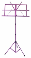 Audio 2000 (AST4442PL) Portable Sheet Music Stand (Purple)