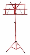 Audio 2000 (AST4442RD) Portable Sheet Music Stand (Red)