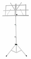 Audio 2000 (AST4442WT) Portable Sheet Music Stand (White)