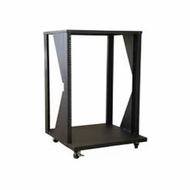 Audio 2000 (AST4613) Steel Equipment Stand & Rack with Heavy-Duty Casters