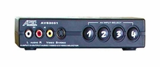 Audio 2000 (AVS3031) 4-In 2-Out Audio/ Video/ S-Video Selector