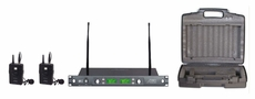 Audio 2000 (AWM6546DUM) Lavaliere (Lapel) Wireless Microphone System
