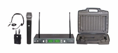 Audio 2000 (AWM6547DUX) Handheld & Headset Wireless Microphone System