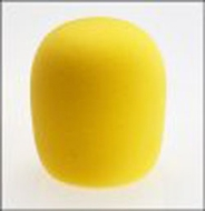 Audio 2000 (AWS403Y) Microphone Windscreens Inside Diameter: 35mm Color: Yellow