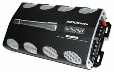 Audio Pipe (AQX-400.2) 2 Channel Class AB Amplifier, 2000W Max