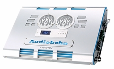 Audiobahn (A18001DJ) Class D Mono Block Amplifiers with Large Display Volt Meter