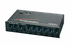 Audiobahn (AEQ6J) Pre-Amp, Five-Band Stereo Equalizer with Subwoofer Output