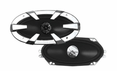 "Audiobahn (AS41J) AS Conversion Component Series 4""x10"" 2-Way Car Speakers"