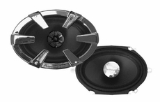 "Audiobahn (AS68J) 6""x 8"" / 5""x7"" 2-Way Car Speakers"