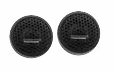 Audiobahn (AT60J) 16mm Silk Dome Tweeter Set 100 Watts