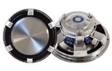 Audiobahn (AW1000J) High Excursion subwoofer Dual 4 Ohm Voice Coil with Multi-connect 10""
