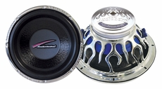"""Audiobahn (AW1051J) Natural Sound subwoofers Dual 4 Ohm Voice Coil with Multi-Connect 10"""""""