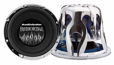 Audiobahn (AWIS12J) Immortal Series subwoofers and Ultra light 2-layer Carbon Fiber 12""
