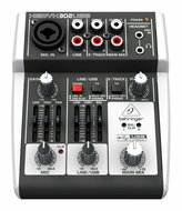 Behringer (302USB) Premium 5-Input Mixer with XENYX Mic Preamp and USB/Audio Interface