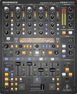 Behringer (DDM4000) Ultimate 5-Channel Digital DJ Mixer with Sampler, 4 FX Sections, Dual BPM Counters and MIDI