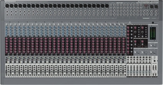 Behringer (EURODESK SX3282) Ultra-Low Noise Design 32-Input 8-Bus Studio/Live Mixer with XENYX Mic Preamplifiers and British Eqs