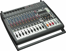 Behringer (PMP4000) 1600-Watt 16-Channel Powered Mixer with Multi-FX Processor and FBQ Feedback Detection System