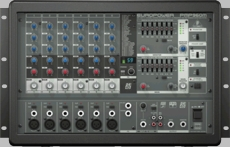 Behringer (PMP960M) 900-Watt 6-Channel Powered Mixer with Multi-FX Processor and FBQ Feedback Detection System
