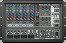Behringer (PMP980S) 900-Watt 10-Channel Powered Mixer with Dual Multi-FX Processor and FBQ Feedback Detection System