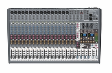 Behringer (SX2442FX) Ultra-Low Noise Design 24-Input 4-Bus Studio/ Live Mixer with XENYX Mic Preamplifiers, British EQs and Dual Multi-FX Processor