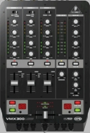 Behringer (VMX300USB) Professional 3-Channel DJ Mixer with USB/Audio Interface, BPM Counter, VCA Control and Massive Software Bundle