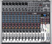 Behringer (X2222USB) Premium 22-Input 2/2-Bus Mixer with XENYX Mic Preamps & Compressors, British EQs, 24-Bit Multi-FX Processor, USB/Audio Interface and energyXT2.5 Compact BEHRINGER Edition Music Production Software