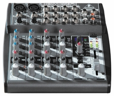 Behringer (XENYX 1002FX) Premium 10-Input 2-Bus Mixer with XENYX Mic Preamps, British EQs and 24-Bit Multi-FX Processor