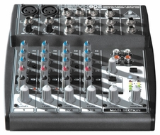 Behringer (XENYX 802) Premium 8-Input 2-Bus Mixer with XENYX Mic Preamps and British Eqs