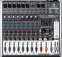 Behringer (XENYX X1222USB) Premium 16-Input 2/2-Bus Mixer with XENYX Mic Preamps & Compressors, British EQs, 24-Bit Multi-FX Processor, USB/Audio Interface and energyXT2.5 Compact BEHRINGER Edition Music Production Software