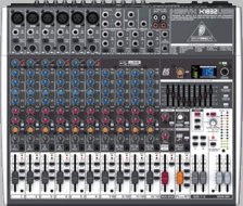 Behringer (XENYX X1832USB) Premium 18-Input 3/2-Bus Mixer with XENYX Mic Preamps & Compressors, British EQs, 24-Bit Multi-FX Processor, USB/Audio Interface and energyXT2.5 Compact BEHRINGER Edition Music Production Software