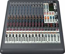 Behringer (XL1600) Premium 16-Input 4-Bus Live Mixer with XENYX Mic Preamps and British EQs