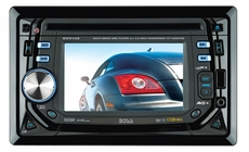 """Boss Audio (BV9150) In-Dash Double-Din DVD/MP3/CD Am/Fm Receiver with 4.5"""" Widescreen Touchscreen TFT Monitor with USB and SD Memory Card Ports and Front Panel Aux Input"""
