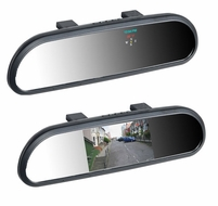 "BOYO (VTB42M) 4.2"" Clip on or Replacement Mirror Monitor w/ Bluetooth"