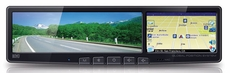 "BOYO (VTG43) Rear View Mirror with 4.3"" Touch Panel LCD with Nav / Bluetooth"