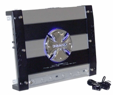 Brand-X (L105X4) 740 Watt 4 Channel Mosfet Amplifier
