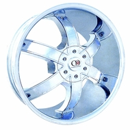 BZO Wheels (LUCKY 6) Chrome Finish Rim