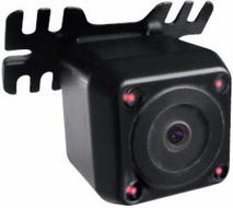 Rydeen (CM3-T150B-PRI) MINy LED2 Ultra Low Illumination CMOS III Angle Adjustable Mini Camera w/ Mirror/Positive Image & Parking Line On/Off options w/ LED for Night Vision, Black
