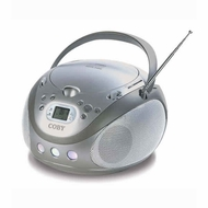 Coby (MP-CD451) Portable Stereo MP3/CD Player with AM/FM Radio