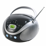 Coby (MP-CD471) Portable MP3/CD Stereo with AM/FM Radio and USB Port