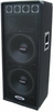 "DEURA (DJ-215) Dual 15"" 2000W Speaker Full Grill Silk Tweeters"
