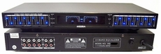DEURA (EQ-300B) Dual 10 Band Graphic Equalizers With Individual LED Indicators