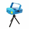 DEURA (MA-1030-BLUE) Mini Holographic Laser Star Projector Stage DJ Show Lighting