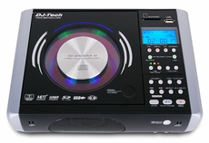 DJ-Tech (CD ENCODER 10) CD to MP3 Encoder with USB / SD-Card Built-in Speaker & Amplifier