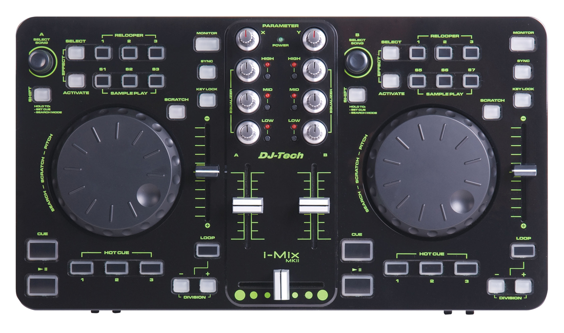dj Tech i Mix Mkii Virtual dj Dj-tech I-mix Mkii Usb/midi
