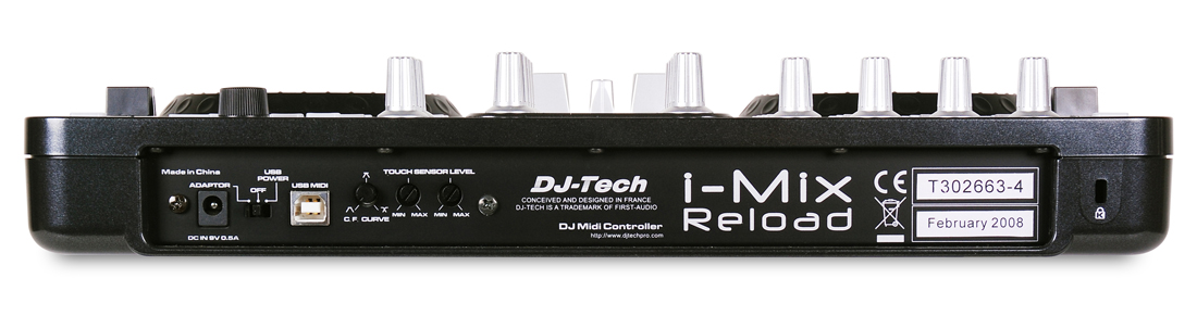 dj Tech i Mix Reload Dj-tech I-mix Reload