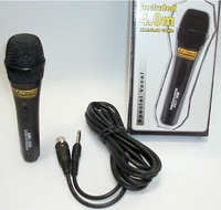 DJ-Tech (MK-100) Professional Uni-Directional Dynamic Microphone w/On-off Switch & 4 Meter Cable