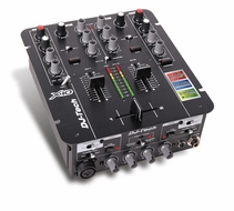 DJ-Tech (X10) 2 Channel DJ Mixer with Integrated Sound Card