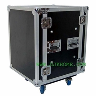 DJK (DJK-14UADS18C) 14 Space Shock Mount Rack Case with Casters